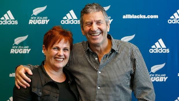 All Blacks assistant coach Wayne Smith and wife Trish have made a huge contribution to NZ Rugby.