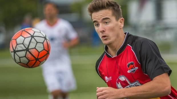 Angus Kilkolly will be a threat to Team Taranaki when they host Napier City Rovers