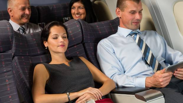 Professors Christopher Buccafusco and Christopher Jon Sprigman found passengers would be willing to pay for reclining ...