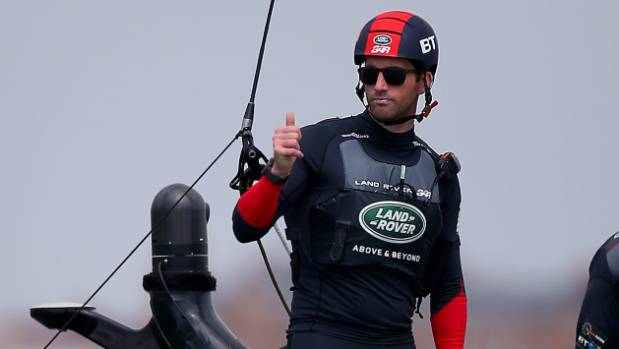 British skipper Sir Ben Ainslie has copped plenty of criticism after hitting Team New Zealand.