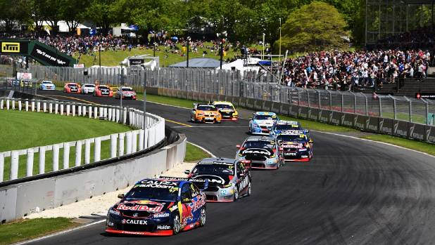 Crowds have been down at Pukekohe despite the success of the New Zealand drivers.