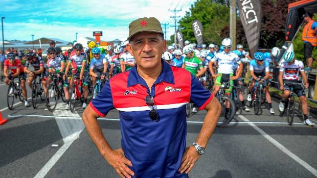 Cycling race director Jorge Sandoval is one of New Zealand's more well known refugees.