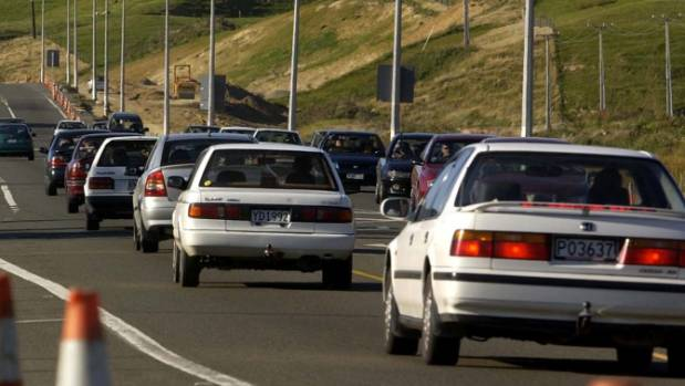 Motorists are facing delays heading north up the Kapiti coast. (File photo)