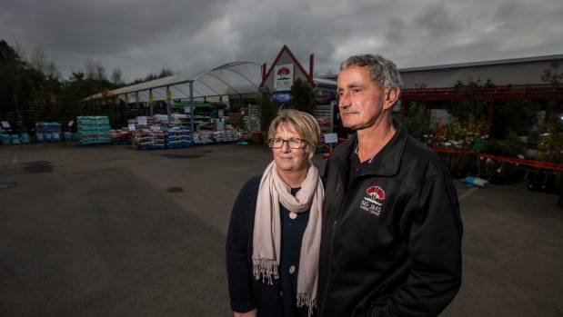 Big Jim's Garden Centre owners Ann and Vince Naus found out they have myrtle rust in their garden centre.