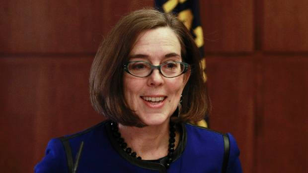 Oregon Governor Kate Brown sent young Samuel another pen as a memento.