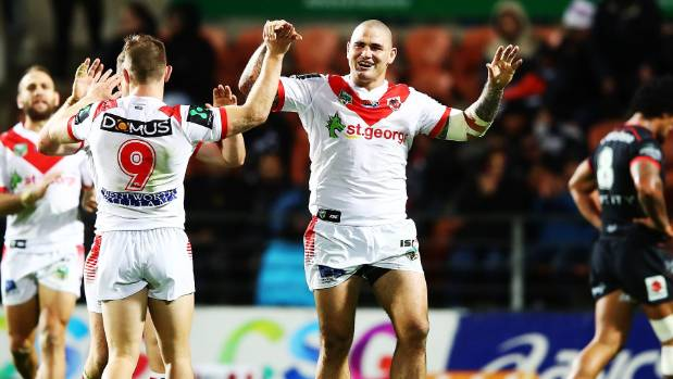 Russell Packer and the Dragons were smiling on Friday night.