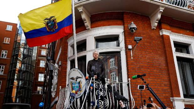 Wikileaks founder Julian Assange has lived in the Ecuadorean Embassy in London since 2012.