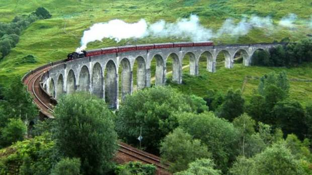 The Harry Potter films made the Glenfinnan Viaduct world-famous.