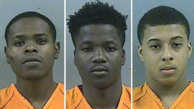 Dwan Wakefield, DeAllen Washington and Byron McBride will face capital murder charges, according to authorities.