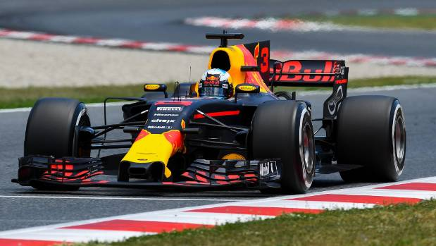 Red Bull had an upgraded chassis at the Spanish Grand Prix.