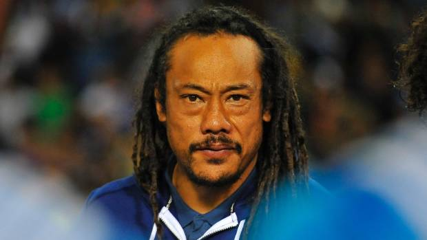Blues coach Tana Umaga was frustrated no card was given for incident which saw Piers Francis knocked out.