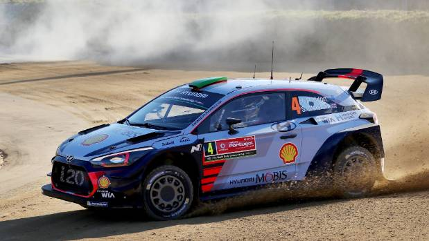 Paddon out of Rally of Portugal