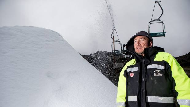 Steve Mananui said the $1.5 million snow factory will help to improve the reliability of snow cover at Happy Valley and ...