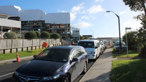 Traffic and parking are an issue on narrow Potter Ave, where The Block NZ will be filmed.