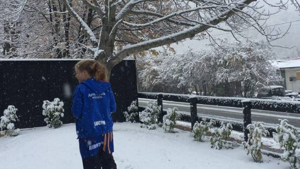 Arrowtown's Lucy Madafiglio, 11, swaps Saturday netball for Saturday snow-watching.