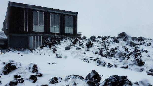 It's not just snowy down south ... Ruapehu got the good stuff too.