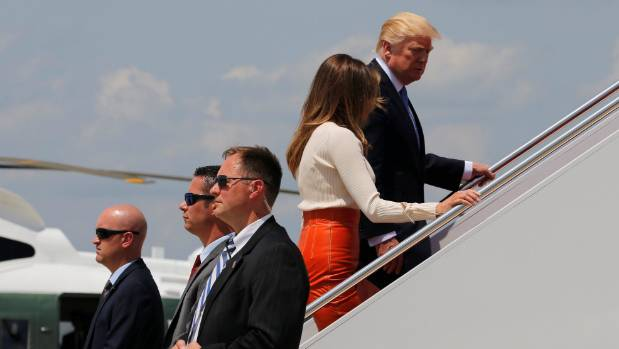 Trump's trip has morphed from a quick jaunt to Europe into a nine-day behemoth.