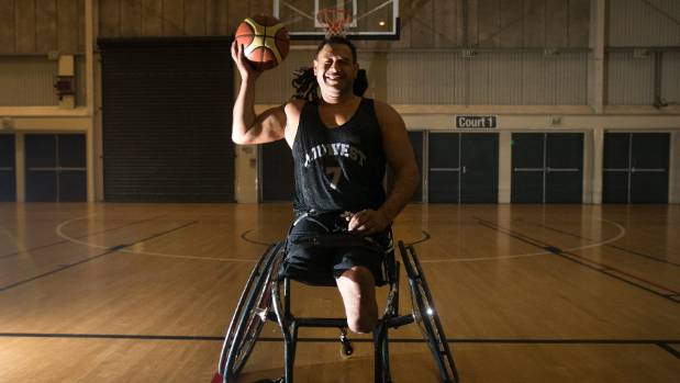 National Roller Ball wheelchair basketballer Ben Hekenui, of New Plymouth, preparing for the Oceania champs in China.
