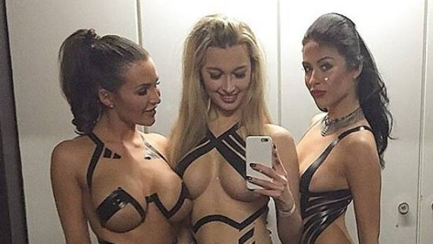 Women have been taking to clubs and bars and Instagram wearing nothing but a few strips of duct tape strategically ...