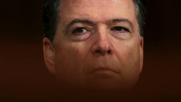 Former FBI Director James Comey, who was fired by President Donald Trump amid an agency probe into alleged Russian ...