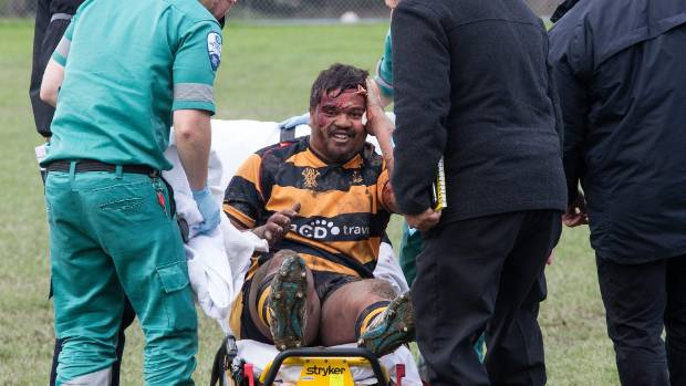 Wellington Football Club U21's match against Avalon was called off early in the second half after another head injury, ...