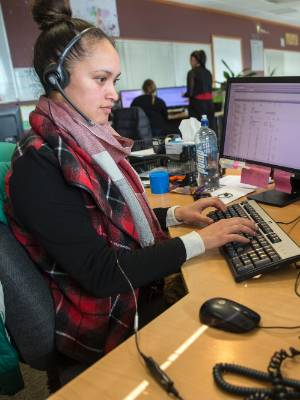 At the Palmerston North City Council call centre, Te Rangiamohia Nikora-Davis is one of the faces behind a voice ...