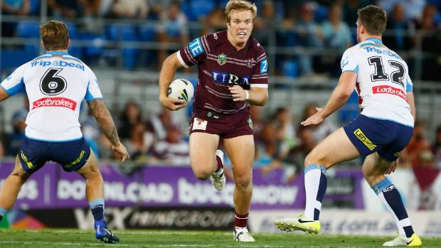 Jake Trbojevic ran for a staggering 181 metres as he pushed his State of Origin credentials.