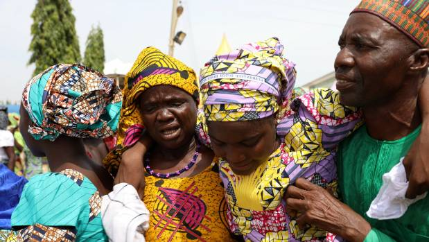 Aisha Buhari visits released Chibok girls
