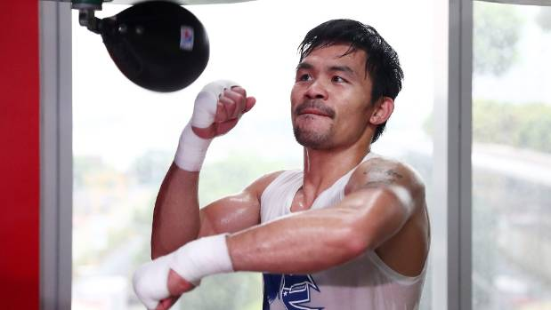 Pacquiao offered up as possible opponent for McGregor