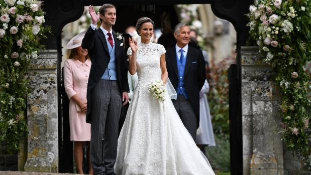 Pippa Middleton and James Matthews were married on Saturday.