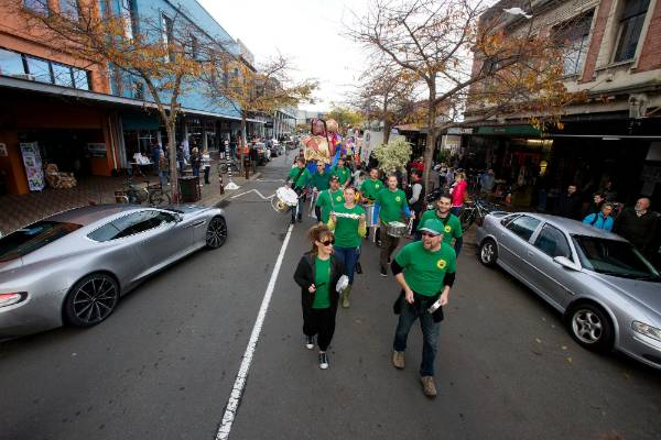 Carnival Parade in George Street.