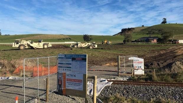 Site of the 300-bed workers accommodation village in Ludstone Rd Kaikoura.