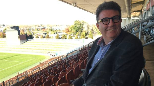 Winners are grinners: 37 South managing director Dallas Fisher has brought the Sevens to Hamilton.