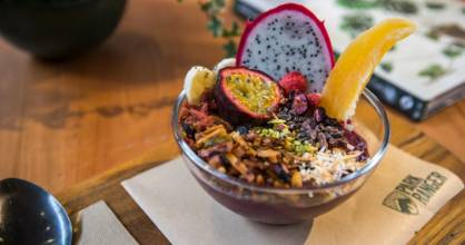 Thick and tasty with plenty of texture - there's a lot to like about Park Ranger's Acai Bowl.
