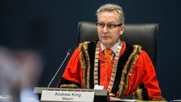 Hamilton mayor Andrew King may already have his Sevens costume sorted, his mayoral robes.