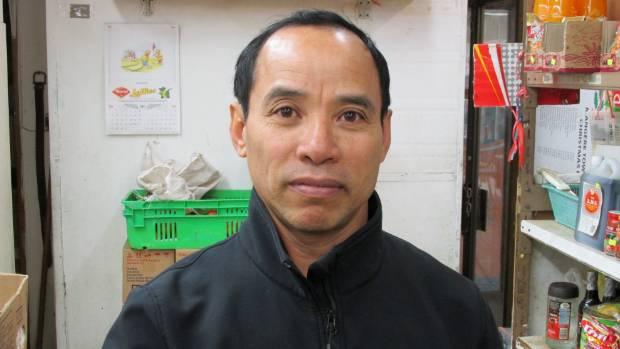 Vutha Hang owns the Mangere Food Market.