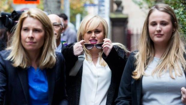 Rebel Wilson gives evidence in Vic court