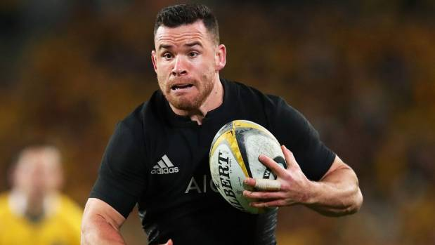 Midfielder Ryan Crotty returns from injury to start for the All Blacks against the Lions in the first test.