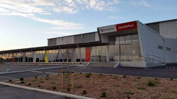 Nz post ramps up services with new christchurch depot for Christchurch landscaping companies