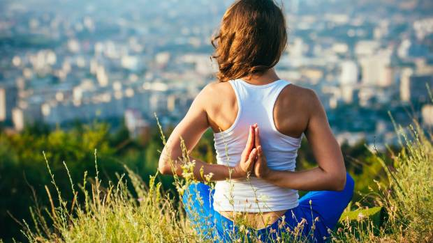 Do something you enjoy - whether it's yoga on a hilltop or a Zumba class at gym.