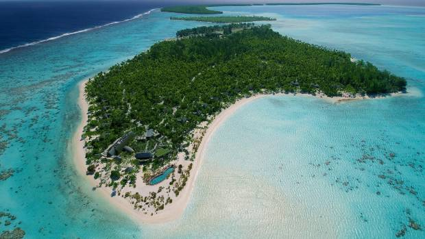 The Brando is a luxury resort on Tetiaroa in French Polynesia.