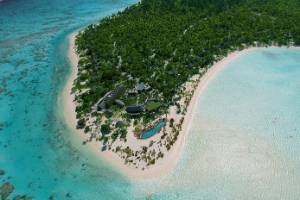 The Brando is a luxury resort on Tetiaroa in French Polynesia.