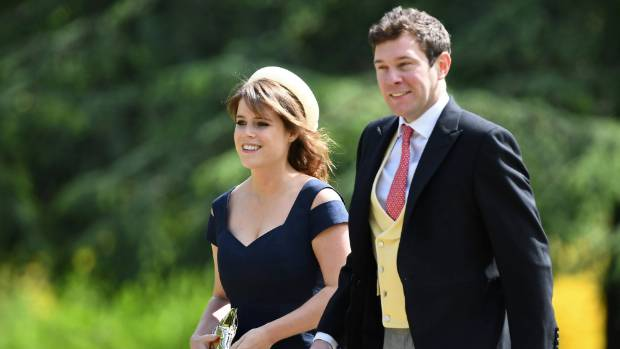 Princess Eugenie is engaged to Jack Brooksbank. More royal wedding hysteria