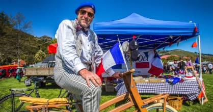 The Akaroa French Fest attracts large crowds.
