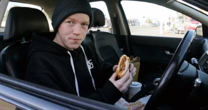 Jack Townend has spent over $4000 over the past two years at McDonald's.
