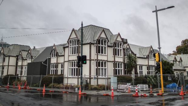 "The Canterbury Provincial Chambers buildings on Durham St are understood to be on the council's ""dirty 30"" list."