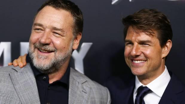 Russell Crowe and Tom Cruise arrive ahead of The Mummy Australian Premieren Sydney, Australia.