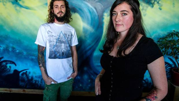 Mikal Carter and Gembol Farrell have opened a new tattoo and art studio in Palmerston North.