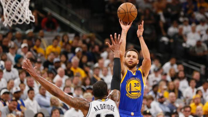 1e7e347b3f3 Golden State Warriors sweep San Antonio Spurs to reach NBA Finals ...