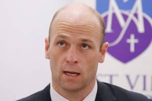 Australian Cricketers Association chief executive Alistair Nicholson calming the storm.